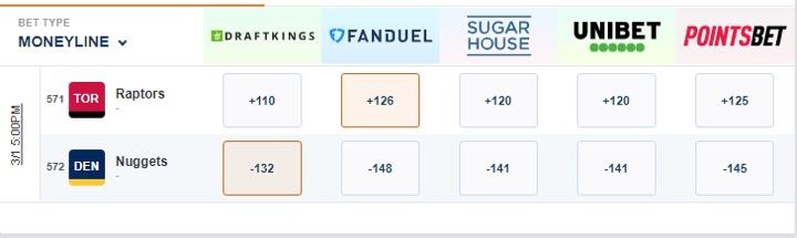Scoresandodds com betting trends pokemobs mod 1-3 2-4 betting system